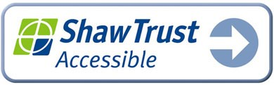 """Shaw Trust accessible"" logo"